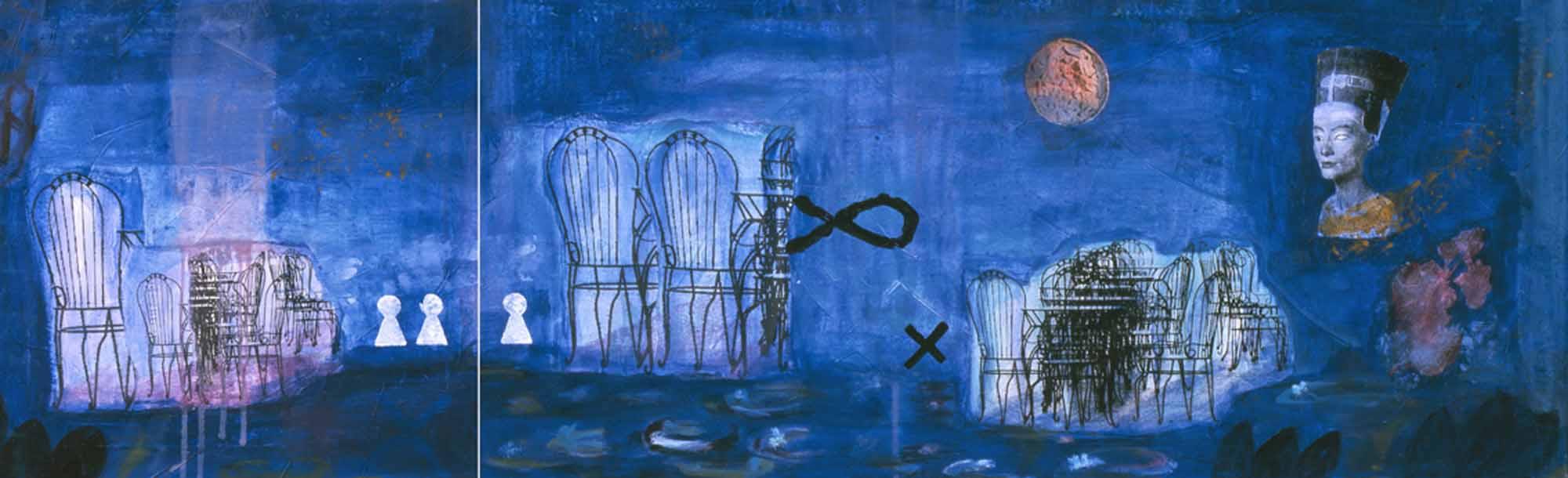 Das Urteil des Paris - la luna 2004 180x60