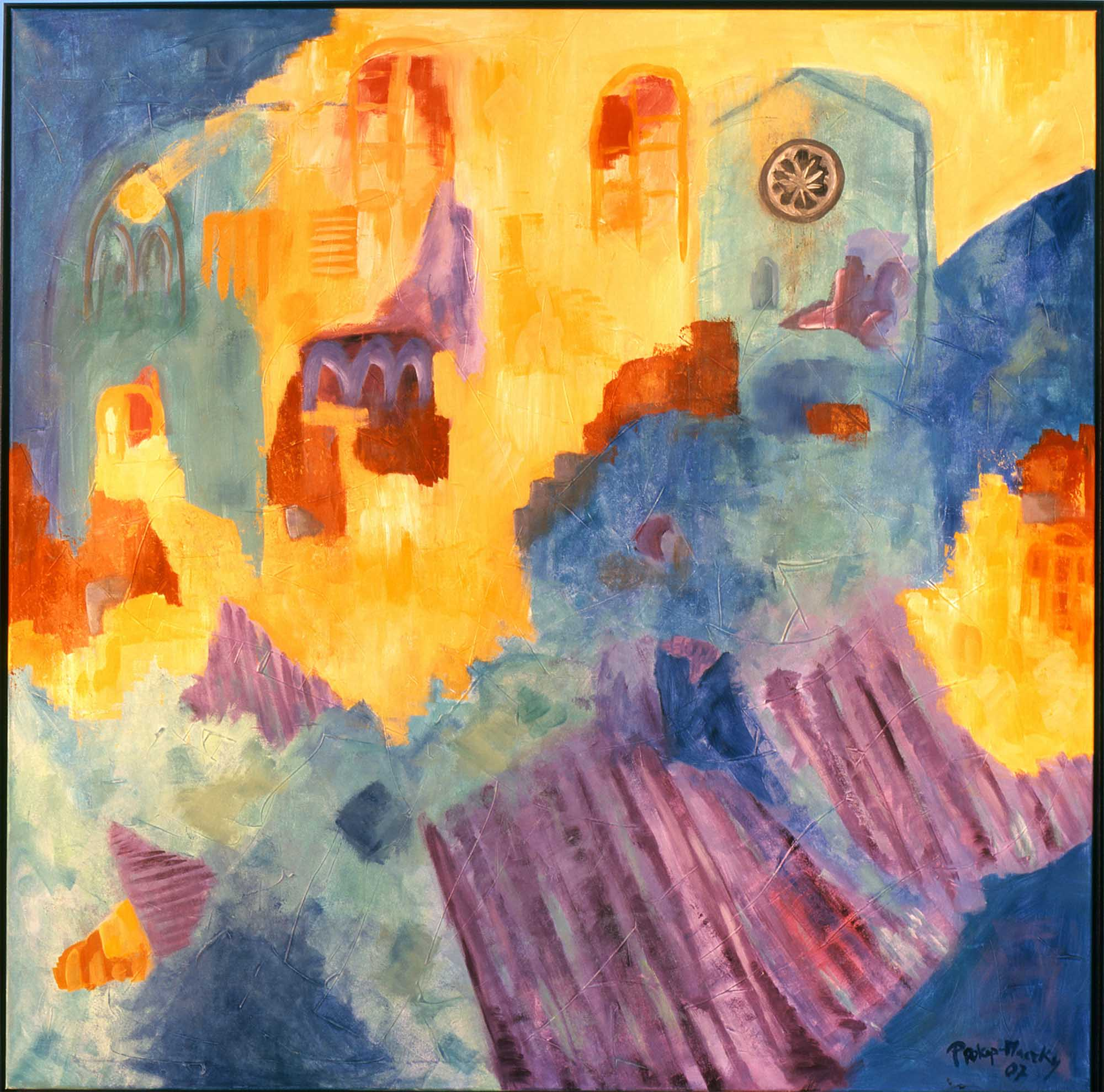 Lavendelblüte-Provence 2007 140x150