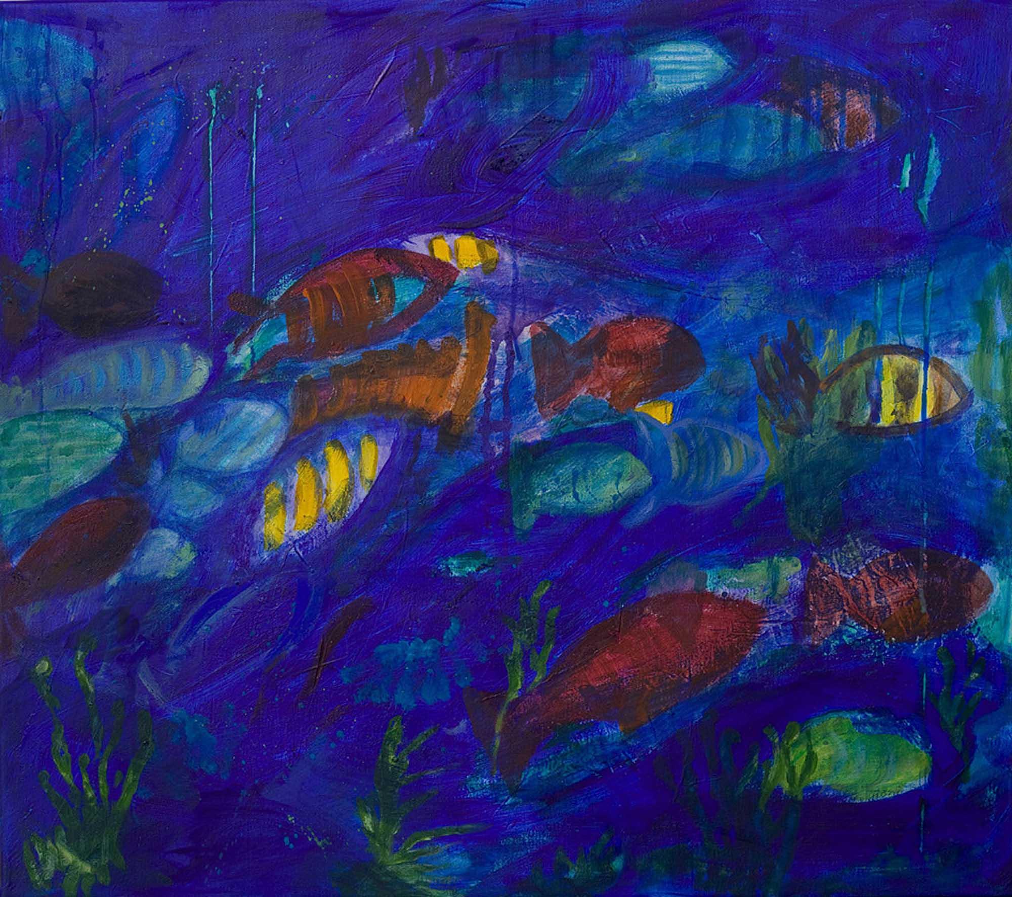Fische III 2012 85x75